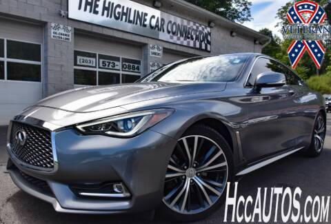 2017 Infiniti Q60 for sale at The Highline Car Connection in Waterbury CT