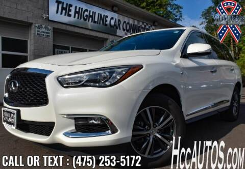 2017 Infiniti QX60 for sale at The Highline Car Connection in Waterbury CT
