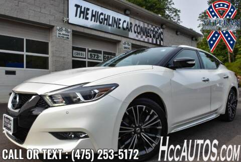 2017 Nissan Maxima for sale at The Highline Car Connection in Waterbury CT