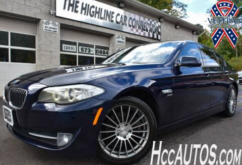 2012 BMW 5 Series for sale at The Highline Car Connection in Waterbury CT