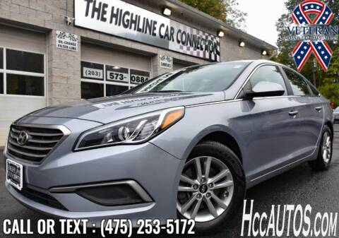 2017 Hyundai Sonata for sale at The Highline Car Connection in Waterbury CT