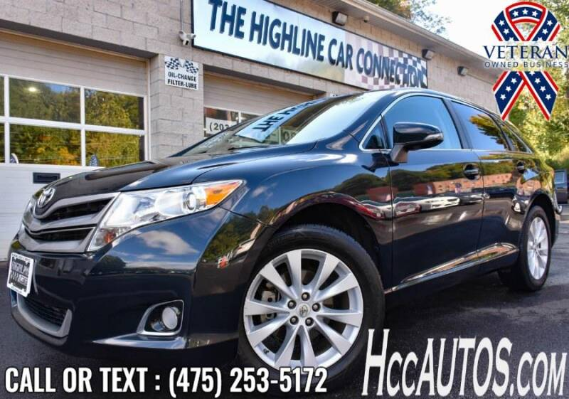2015 Toyota Venza for sale at The Highline Car Connection in Waterbury CT