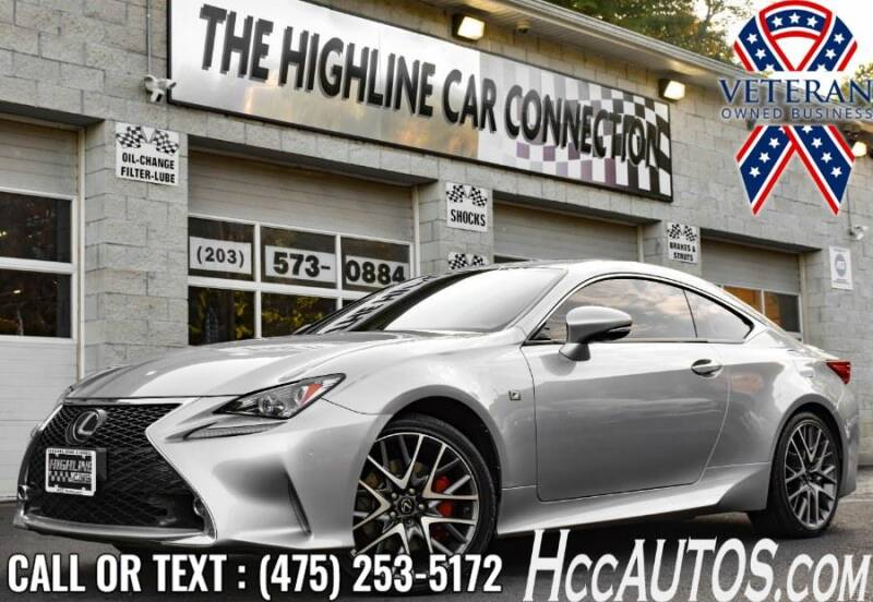 2015 Lexus RC 350 for sale at The Highline Car Connection in Waterbury CT