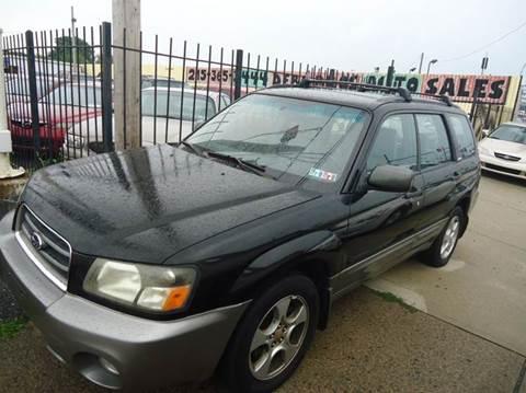 2003 Subaru Forester for sale at Debo Bros Auto Sales in Philadelphia PA