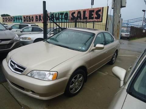 2000 Acura TL for sale at Debo Bros Auto Sales in Philadelphia PA