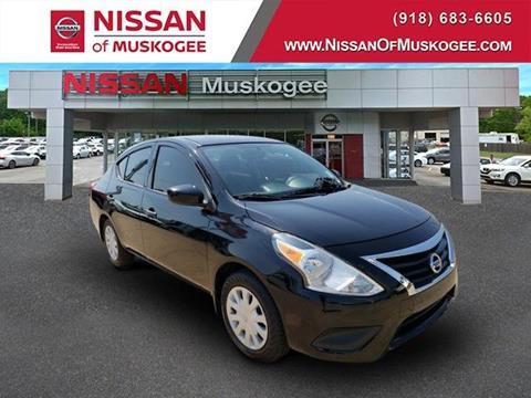 2018 Nissan Versa for sale in Muskogee, OK