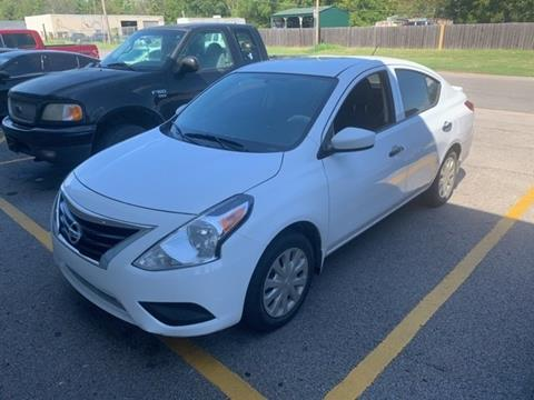 2018 Nissan Versa for sale in Muskogee, OK