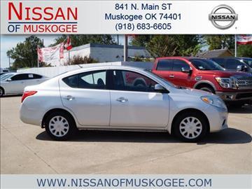 2012 Nissan Versa for sale in Muskogee, OK