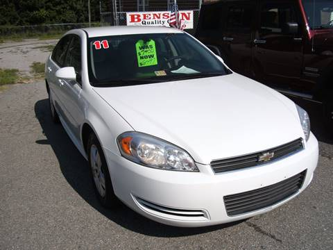 2011 Chevrolet Impala for sale in Petersburg, VA