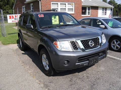 2012 Nissan Pathfinder for sale in Petersburg, VA