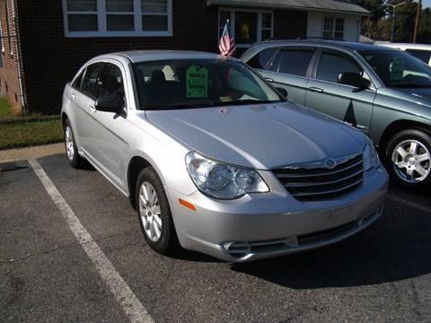 2010 Chrysler Sebring for sale in Petersburg, VA
