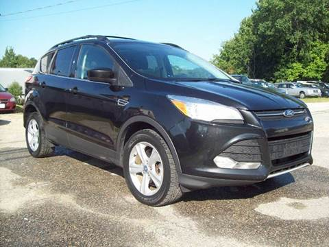 2013 Ford Escape for sale at Frank Coffey in Milford NH