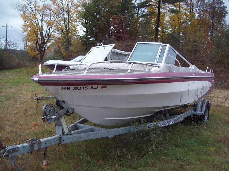 1977 Glastron 17 ft for sale at Frank Coffey in Milford NH