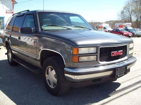 1999 GMC Yukon for sale in Milford, NH