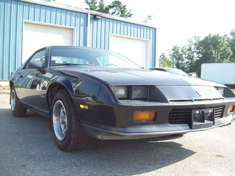 1987 Chevrolet Camaro for sale in Milford, NH