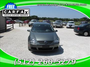 2008 Volkswagen Rabbit for sale in Leander, TX