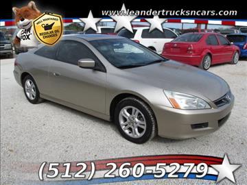 2006 Honda Accord for sale in Leander, TX