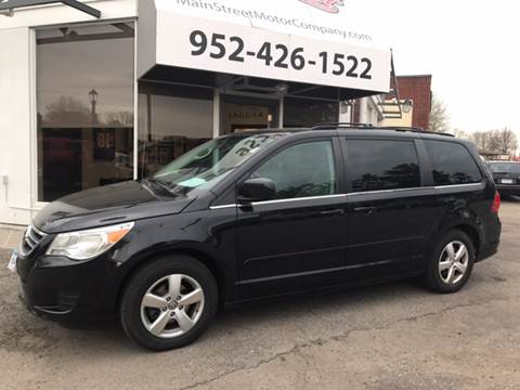 2009 Volkswagen Routan for sale at Mainstreet Motor Company in Hopkins MN
