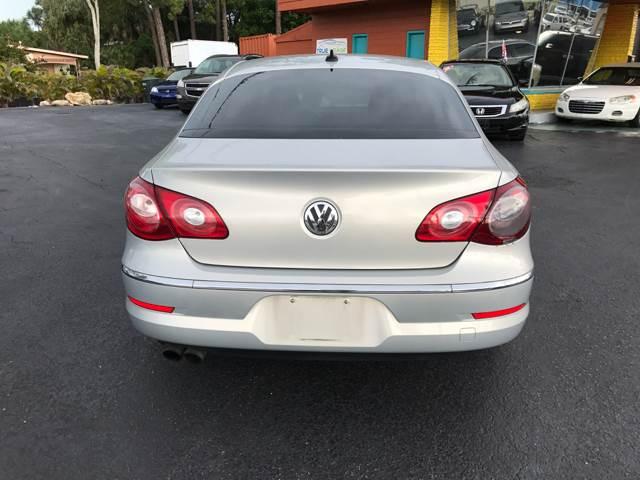 2010 Volkswagen CC Sport 4dr Sedan 6A (ends 10/09) - Fort Myers FL