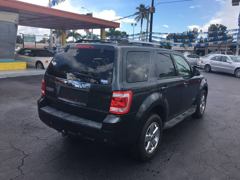2008 Ford Escape Limited 4dr SUV - Fort Myers FL