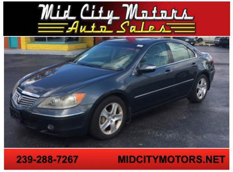 2006 Acura RL for sale in Fort Myers, FL