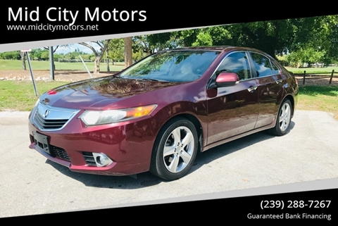 Acura Fort Myers >> 2012 Acura Tsx For Sale In Fort Myers Fl