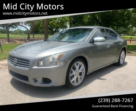 Mid City Nissan >> Nissan Maxima For Sale In Fort Myers Fl Mid City Motors