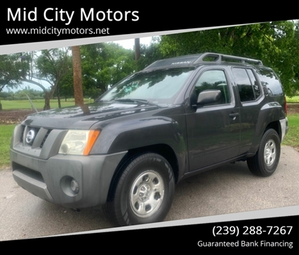 Mid City Nissan >> Nissan Xterra For Sale In Fort Myers Fl Mid City Motors