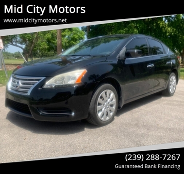 Mid City Nissan >> Nissan Sentra For Sale In Fort Myers Fl Mid City Motors