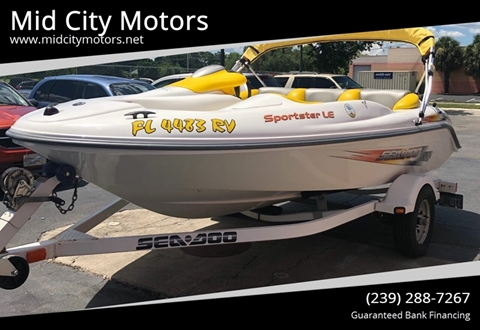 2006 Sea-Doo Sportster LE for sale in Fort Myers, FL
