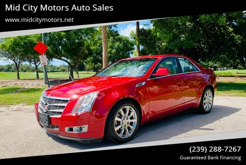 2009 Cadillac CTS for sale in Fort Myers, FL