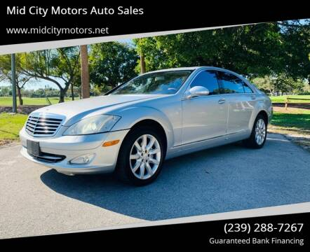 2008 Mercedes-Benz S-Class for sale at Mid City Motors Auto Sales in Fort Myers FL