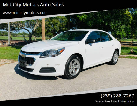 2016 Chevrolet Malibu Limited for sale at Mid City Motors Auto Sales in Fort Myers FL