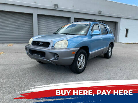 2003 Hyundai Santa Fe for sale at Mid City Motors Auto Sales - Mid City South in Fort Myers FL