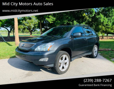 2007 Lexus RX 350 for sale at Mid City Motors Auto Sales in Fort Myers FL