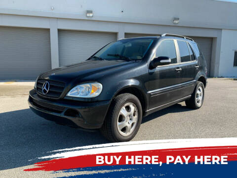 2003 Mercedes-Benz M-Class for sale at Mid City Motors Auto Sales - Mid City South in Fort Myers FL