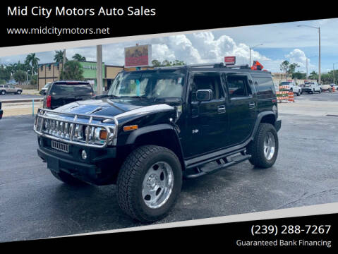 2004 HUMMER H2 for sale at Mid City Motors Auto Sales in Fort Myers FL