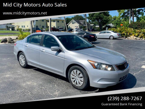 2010 Honda Accord for sale at Mid City Motors Auto Sales in Fort Myers FL