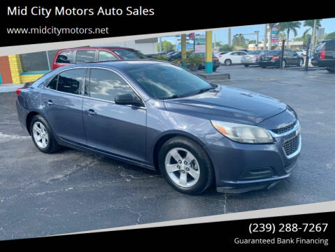 2015 Chevrolet Malibu for sale at Mid City Motors Auto Sales in Fort Myers FL