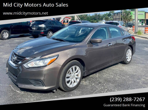 2016 Nissan Altima for sale at Mid City Motors Auto Sales in Fort Myers FL