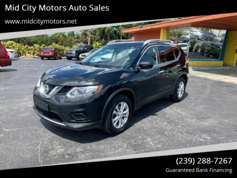 2016 Nissan Rogue for sale at Mid City Motors Auto Sales in Fort Myers FL