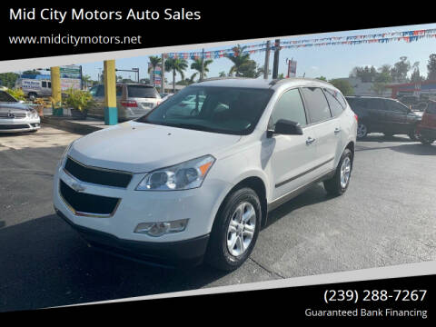 2012 Chevrolet Traverse for sale at Mid City Motors Auto Sales in Fort Myers FL