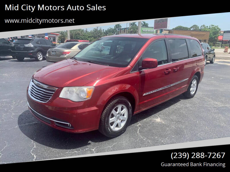 2013 Chrysler Town and Country for sale at Mid City Motors Auto Sales in Fort Myers FL