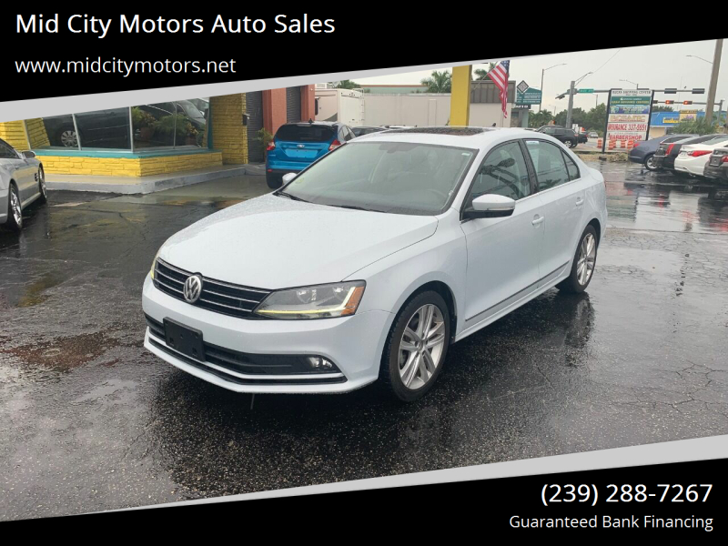 2017 Volkswagen Jetta for sale at Mid City Motors Auto Sales in Fort Myers FL