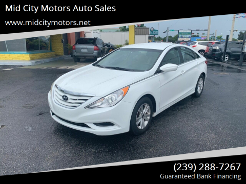 2013 Hyundai Sonata for sale at Mid City Motors Auto Sales in Fort Myers FL