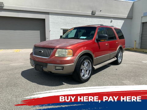 2003 Ford Expedition for sale at Mid City Motors Auto Sales - Mid City South in Fort Myers FL
