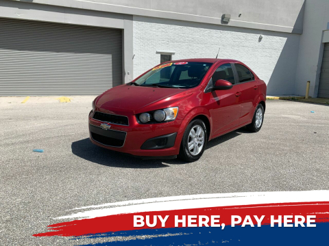 2012 Chevrolet Sonic for sale at Mid City Motors Auto Sales - Mid City South in Fort Myers FL