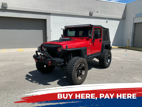 2005 Jeep Wrangler for sale at Mid City Motors Auto Sales - Mid City South in Fort Myers FL