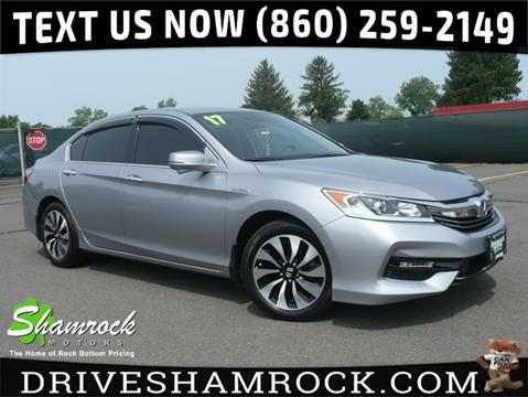 2017 Honda Accord Hybrid for sale in East Windsor, CT