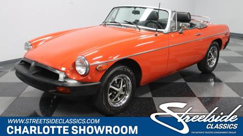 1977 MG MGB for sale in Concord, NC